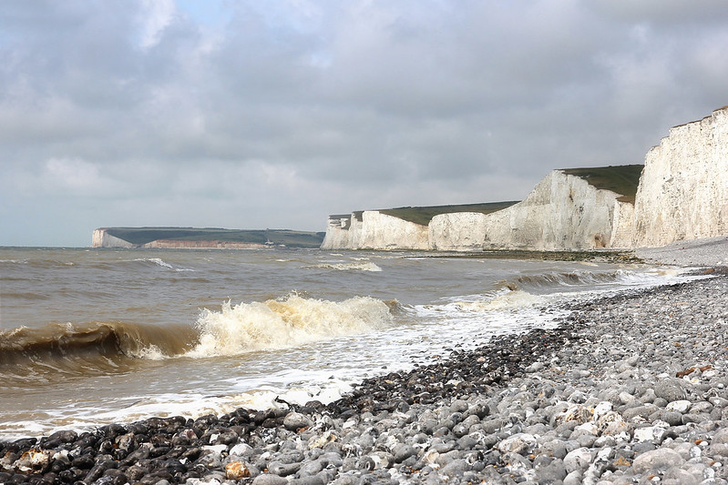 Seven Sisters cliffs, East Sussex