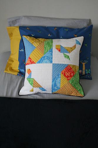 Tangram Pillow