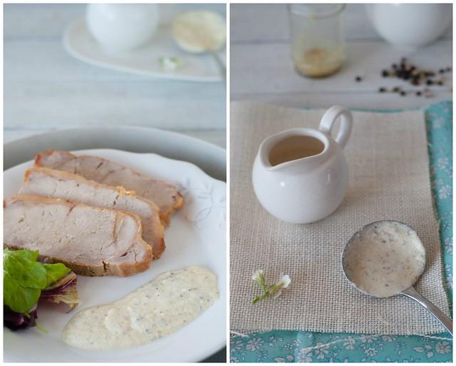 lomo al horno y salsa pimienta 2 Collage