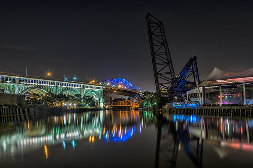 Veterans Memorial Bridge to the Flats by Geoff Livingston