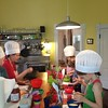 Real Food Kids Cooking Class! So much cute! #kidscooking #chefhat #edenb  #vscocam