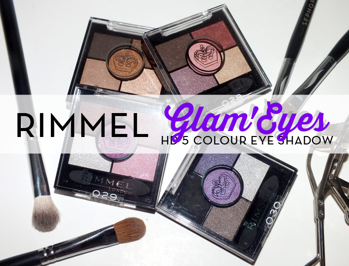 Rimmel Glam'Eyes HD 5 Colour Eye shadow (1)