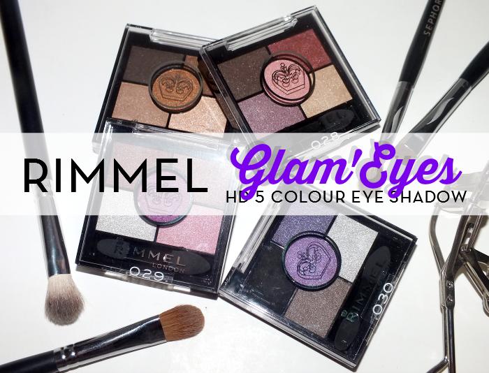 Rimmel Glam'Eyes HD 5 Colour Eye shadow (1)