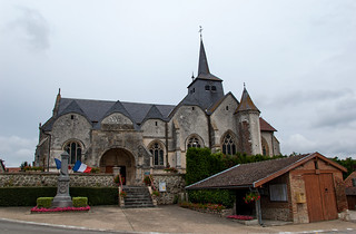 Église Saint Martin à Dommartin-Lettrée