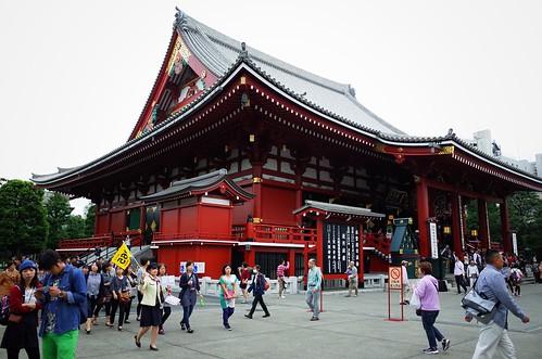 Sensoji Temple in Asakusa