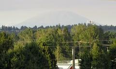 Mount St Helens and smoke