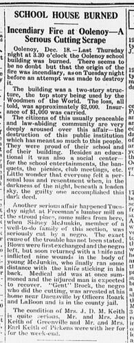 Pickens Sentinal Dec 21 1916