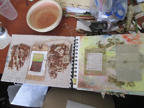 Roxanne Stout's Mixed Media Nature Journal class