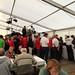 Opening banquet buffet