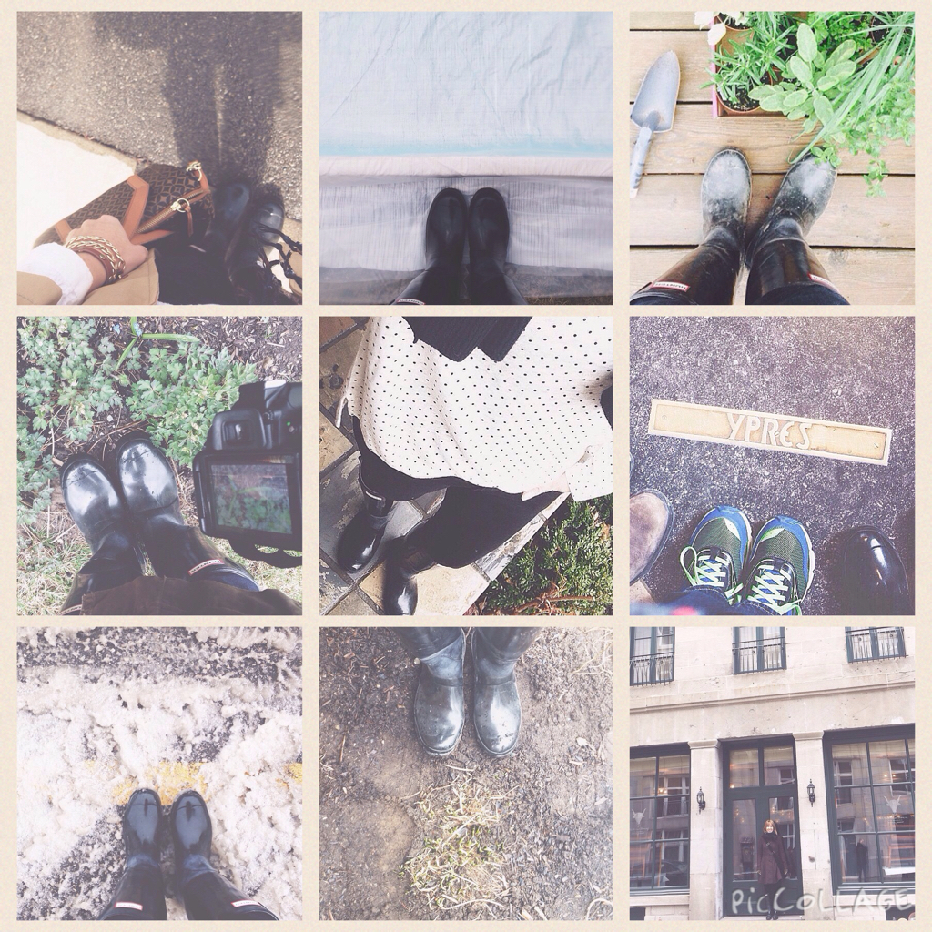 Instagram Hunter Boots posts @personallyandrea