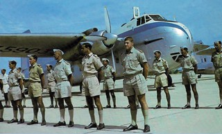 1962 RNZAF Bristol Freighter NZ5903 at Korat, Thailand (Scroll down for details and names)