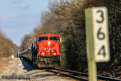 CN 5606 | EMD SD70I | CN Fulton Subdivision