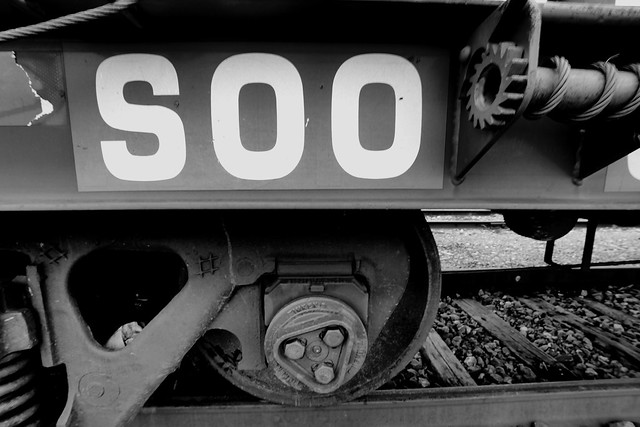 Soo Line Center Sill Car