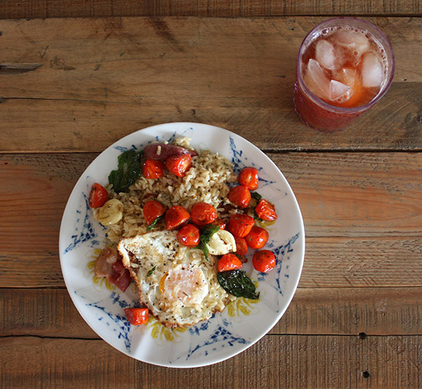 tomato-egg-rice-breakfast