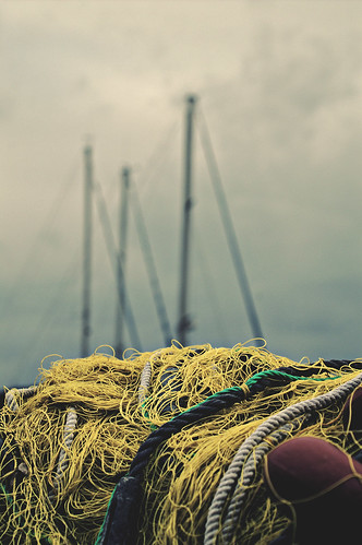 summer sky colour yellow clouds island greek fishing bokeh greece nets flickrdiamond top20greece