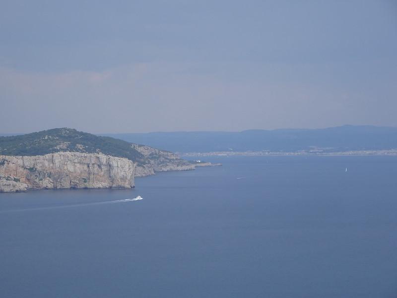 Alghero, from Capo Caccia.