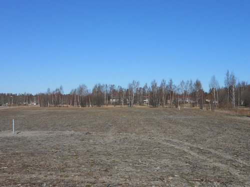 Peltonäkymä, Pohjois-Tapiola Espoo 10.4.2014