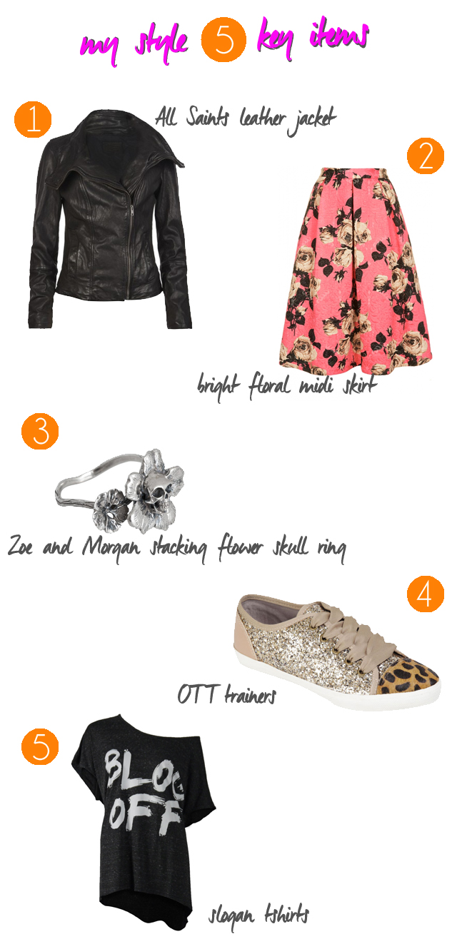 my style 5 items