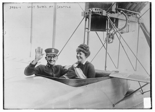 Lucy burns at Seattle (LOC)