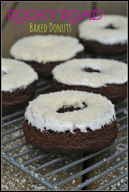 Rocky Road Baked Donuts 1