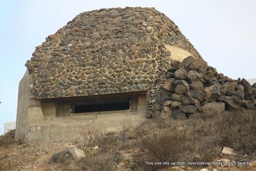 WW2 bunker, El Medano