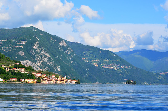 Carzano, Monte Isola, Lake Iseo, Italy