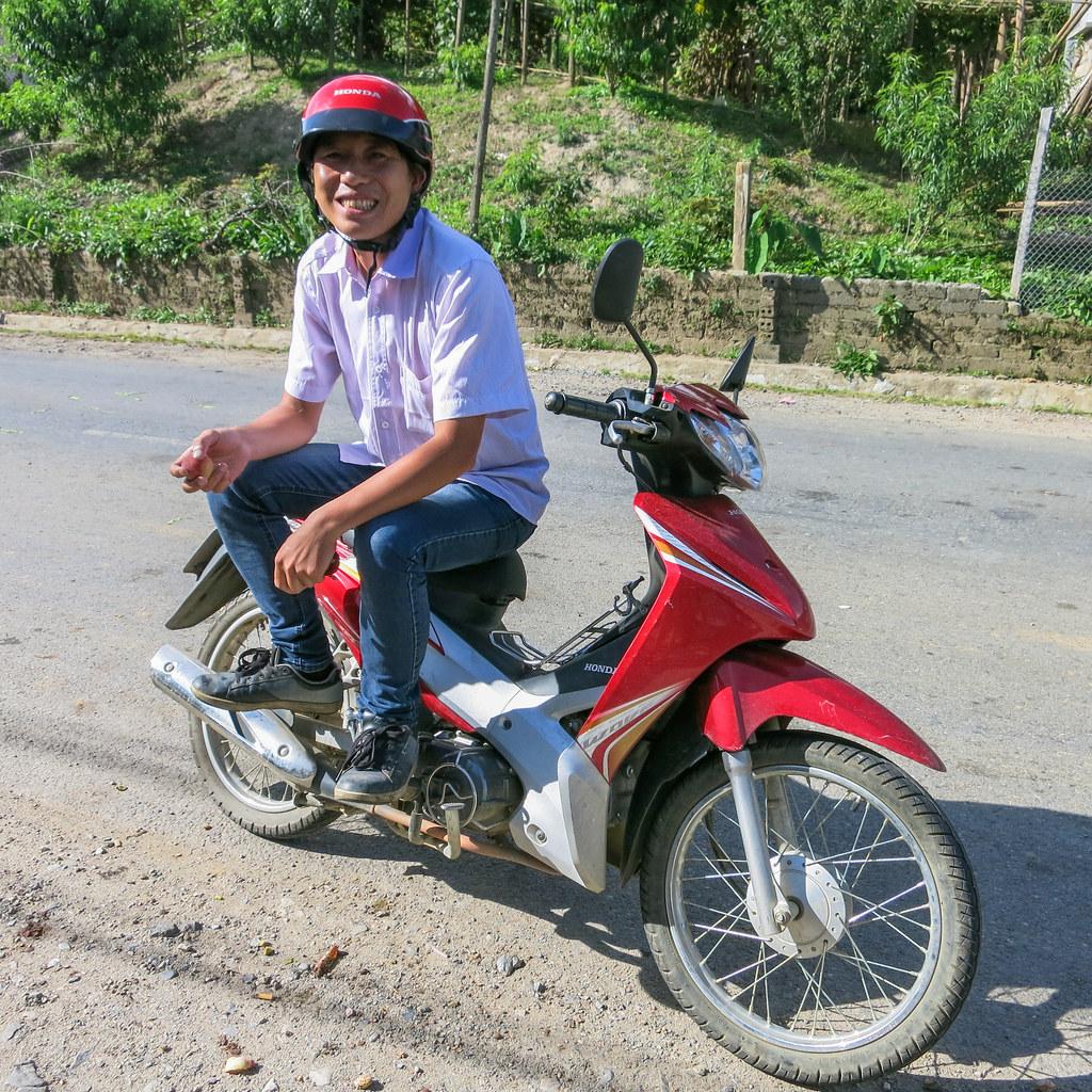 motorbike driver