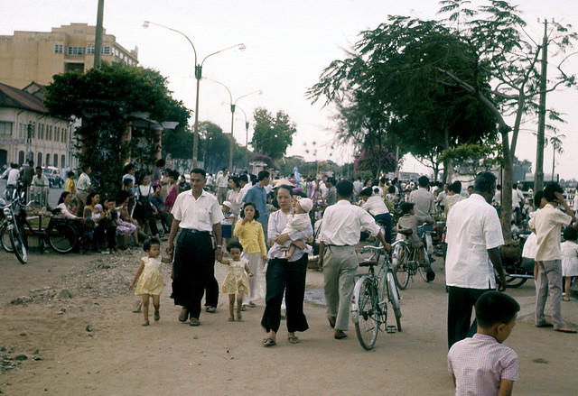SAIGON 1963 - Bến Bạch Đằng - Photo  by Marv Godner