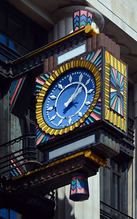 Clock / former Daily Telegraph Building