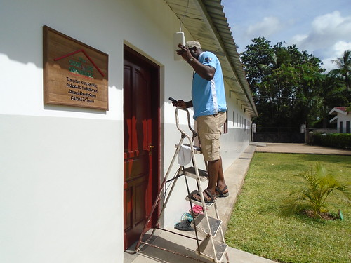 Wifi installation at The GLO Transition House