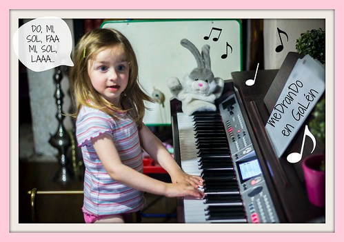 3- Playing the piano