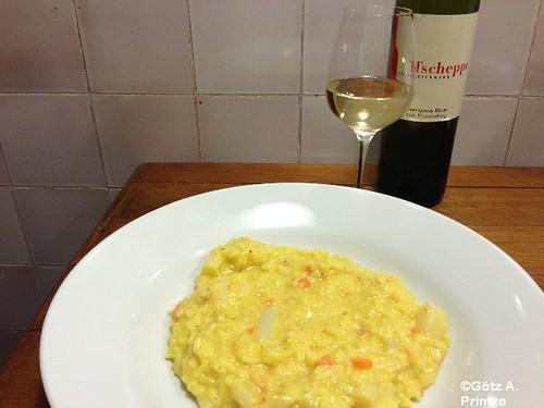 Spargel-Möhren-Risotto mit Sauvignon Blanc von Tscheppe April_2014_05