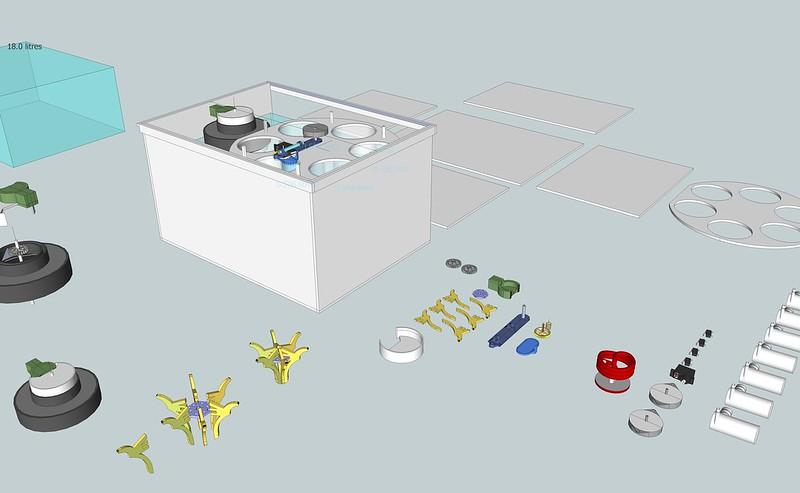 AutoLab V3 printable + lasercut
