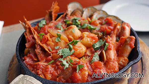 Seafood Sizzlelini