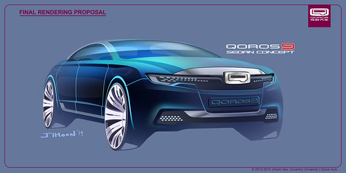 QOROS & Coventry University Student Project 2014 winner