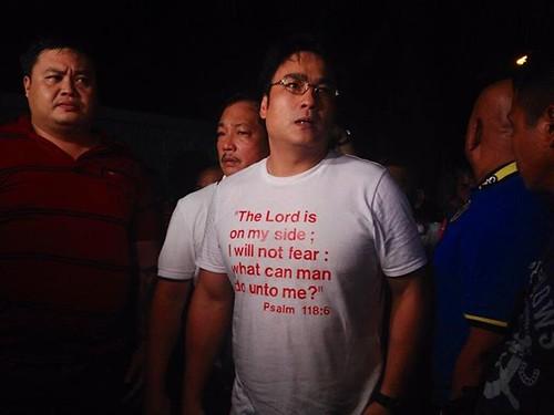 Bong Revilla Psalm Shirt