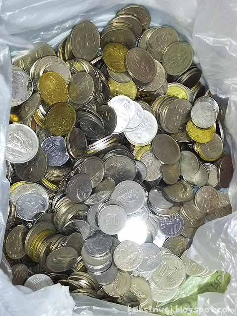 Coin Exchange at Bank