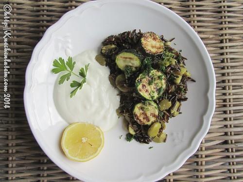 ©Pilaw mit Dicken Bohnen und Zucchini (1)