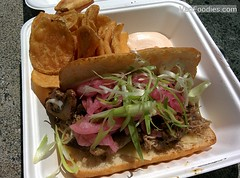 Duck Confit Sandwich, Philly style