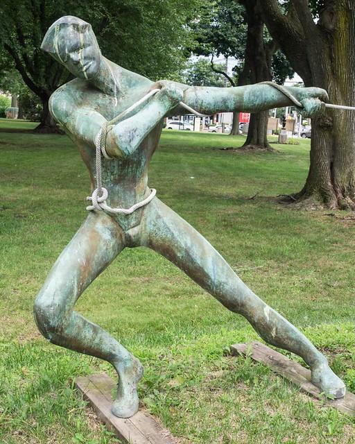 Venus Adonis Sculpture By Meryl Taradash Clifton