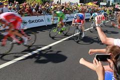 Kristoff devant Sagan et Démarre à Saint Etienne