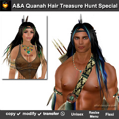 A&A Quanah Hair Treasure Hunt Special-pic