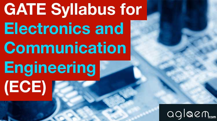 GATE 2015 Syllabus for ECE - Electronics and Communication Engineering