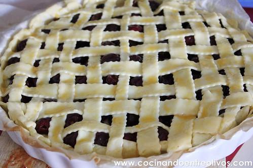 Tarta de picotas www.cocinandoentreolivos (11)