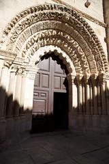 symmetry, arch, building, monastery, architecture, arcade, column,