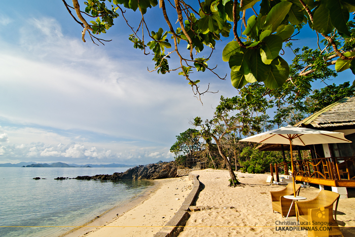 Beachfront Rooms at Club Paradise Coron