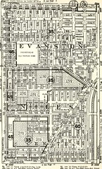 """Image from page 129 of """"Olcott's land values blue book of Chicago"""" (1921)"""