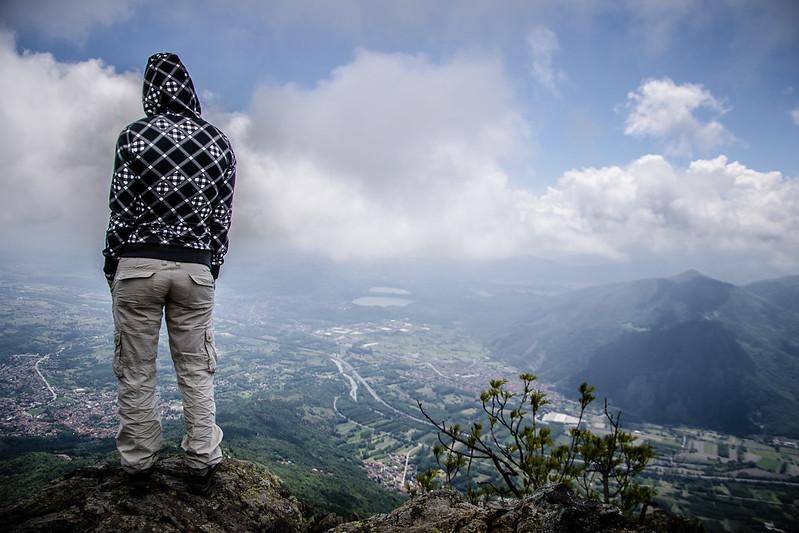 Val di Susa da Rocca Sella spettacolo