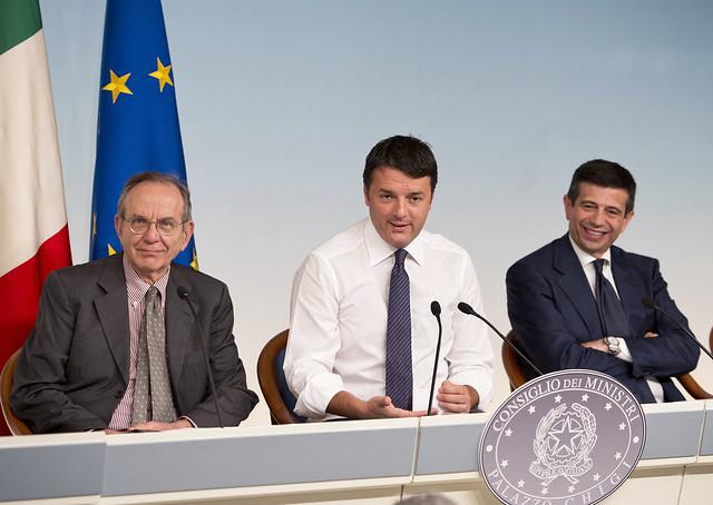 Renzi ha fretta di tagliare 20 miliardi in vista della Legge di Stabilita'