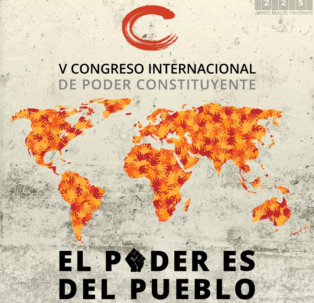 V Congreso internacional sobre Asamblea Constituyente, Barcelona 2014.